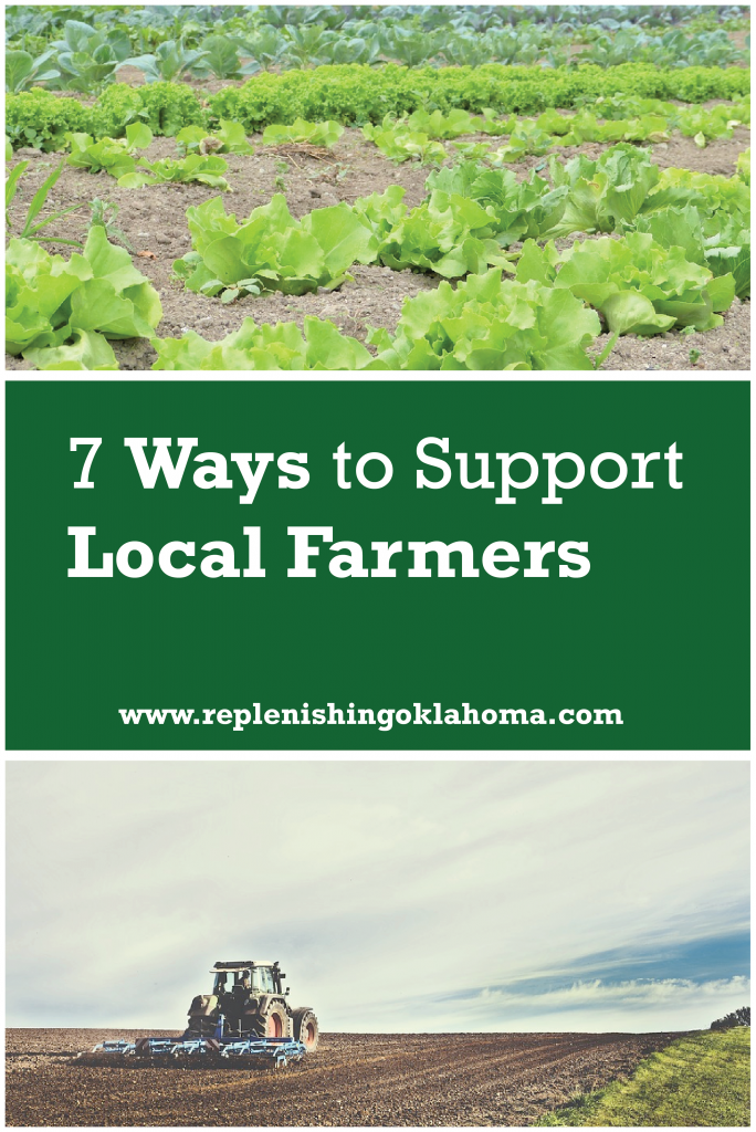 many resources available to help support the local food movement in Oklahoma.