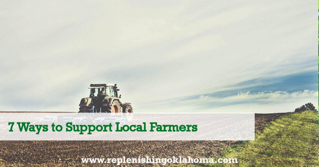 Buy Local: Locally Grown Food Benefits, we discussed the many benefits of supporting the local food system. Today, I will go over the many resources available to help support the local food movement in Oklahoma.