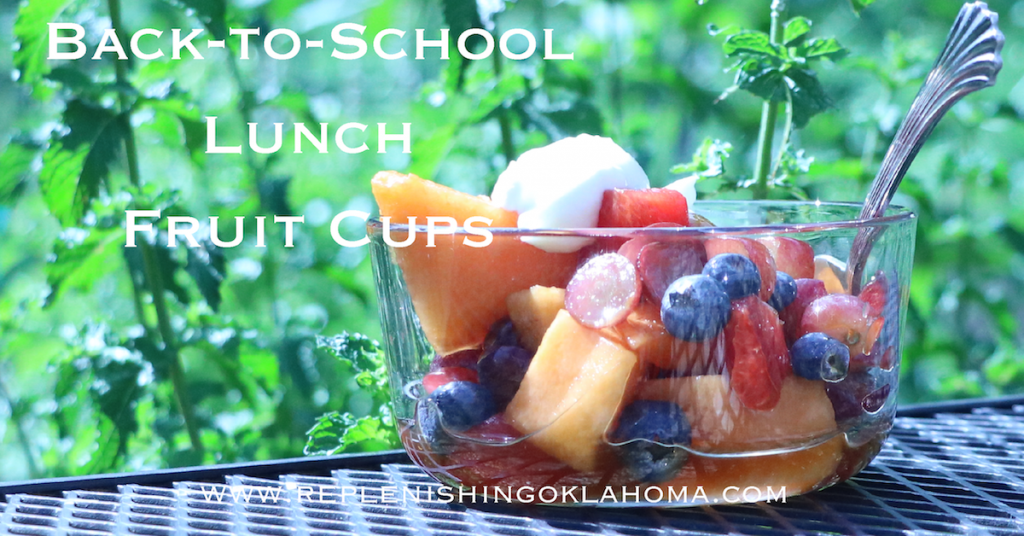 Easy fruit cups for school lunch recipes