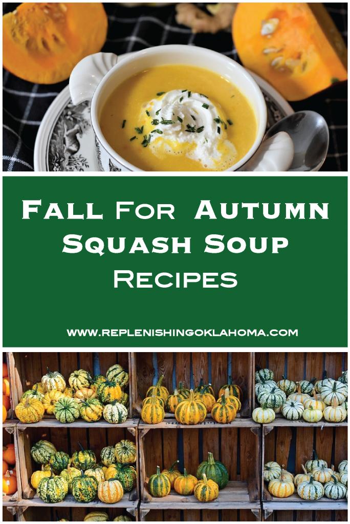 delicious autumn squash soup.