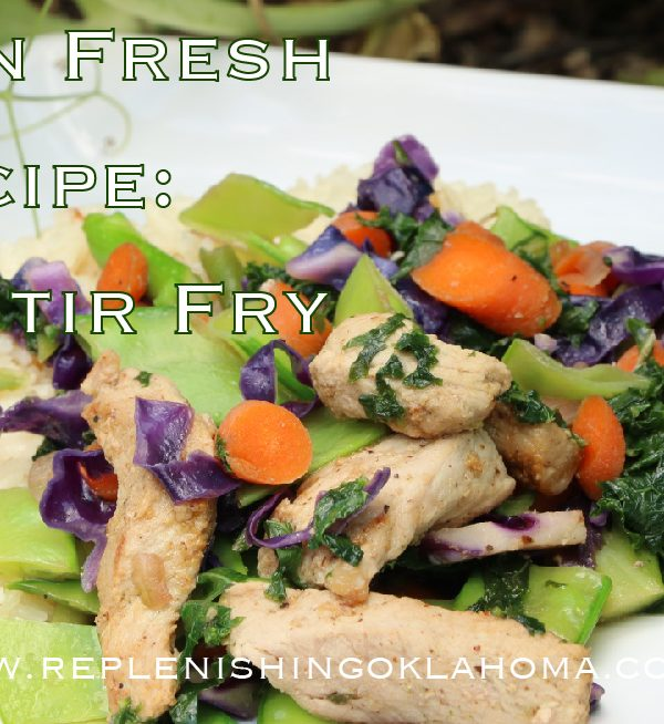 Garden Fresh Recipe: Pork Stir Fry