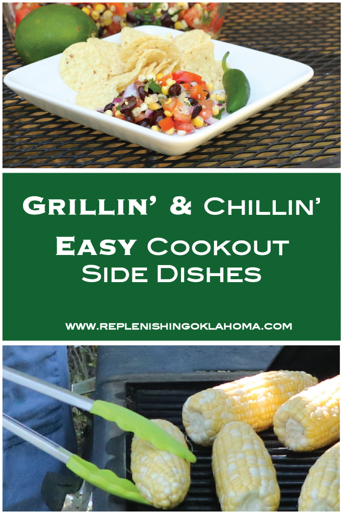 Easy cookout side dishes pin