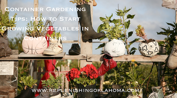 Container Gardening Tips: How to Start Growing Vegetables in Containers
