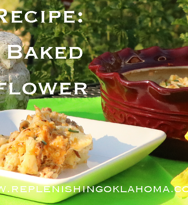 Fall Farmers Market Recipes: Twice Baked Cauliflower